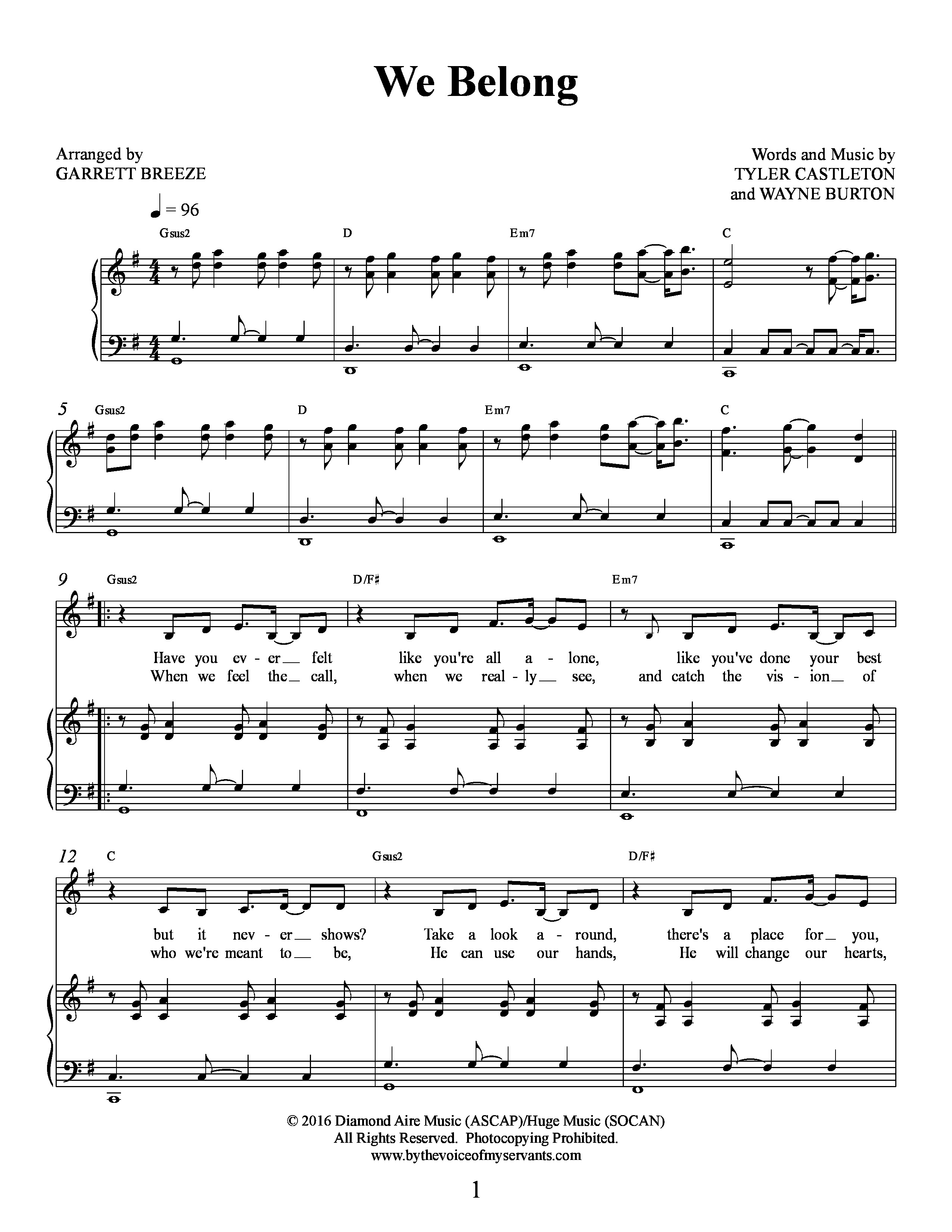 Tyler castleton sheet music preview hexwebz Image collections
