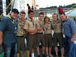 Beyond 5 at the National Boy Scout Jamboree